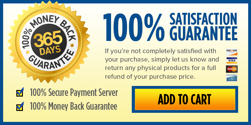 Wholetones TO GO is backed by my Ironclad 100% Money Back Guarantee for an entire year!