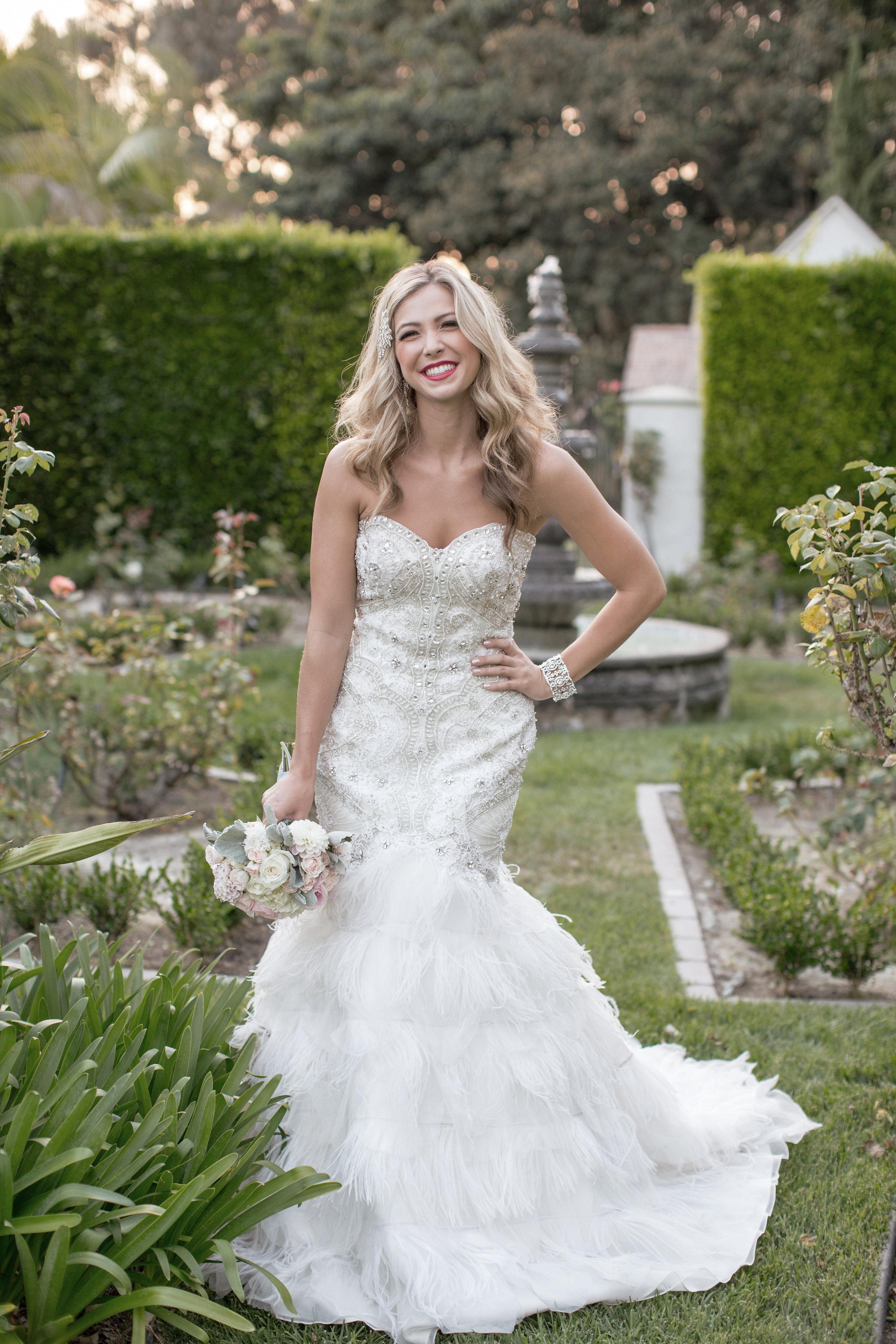 David Manning Photographer Morgan Leigh Boberg San Diego Wedding dress