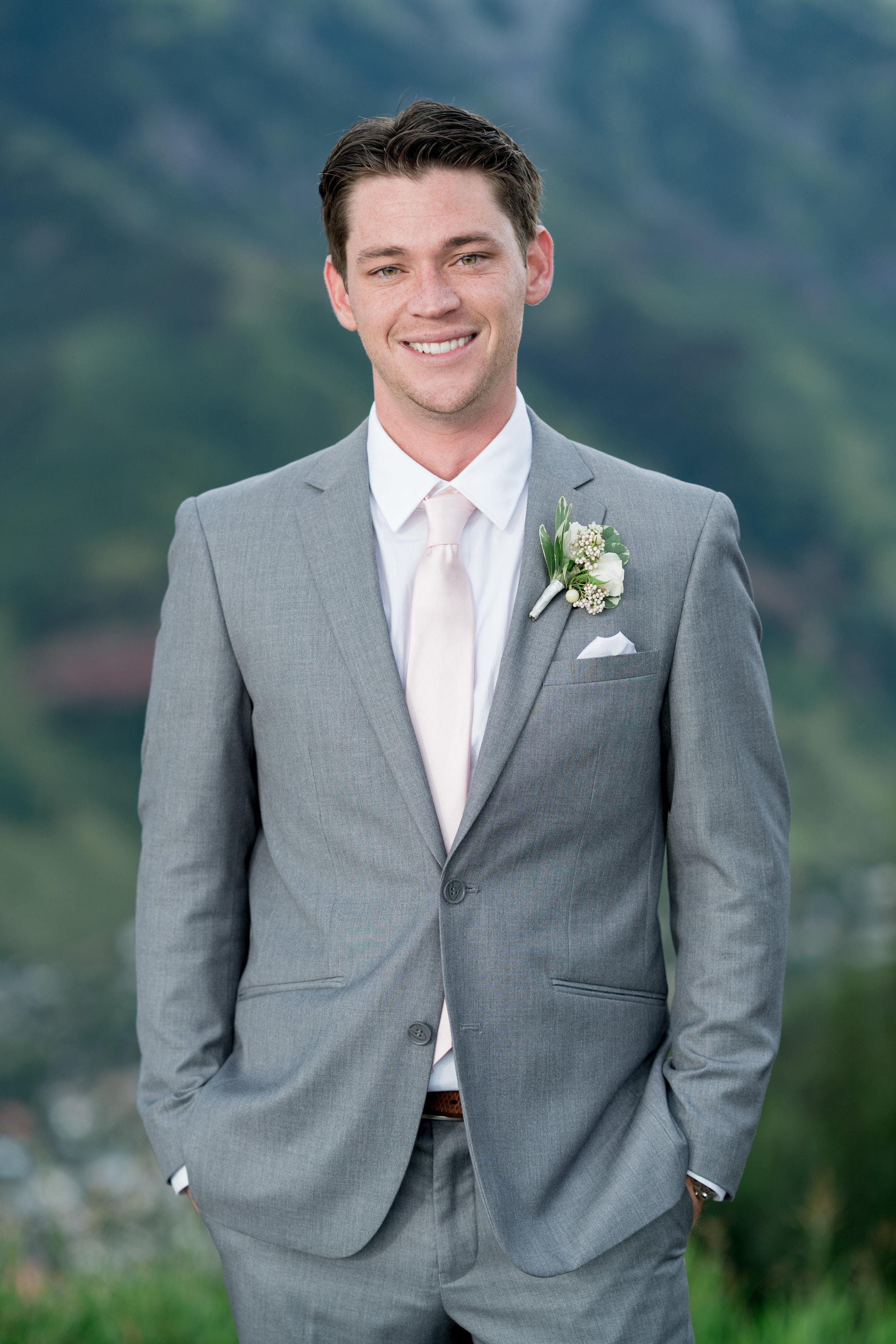 David Manning Photographer groom portrait