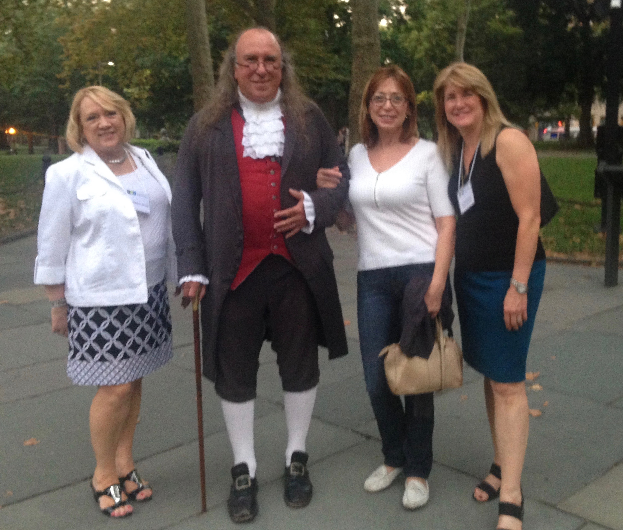 When in Philadelphia, you have to meet Ben Franklin