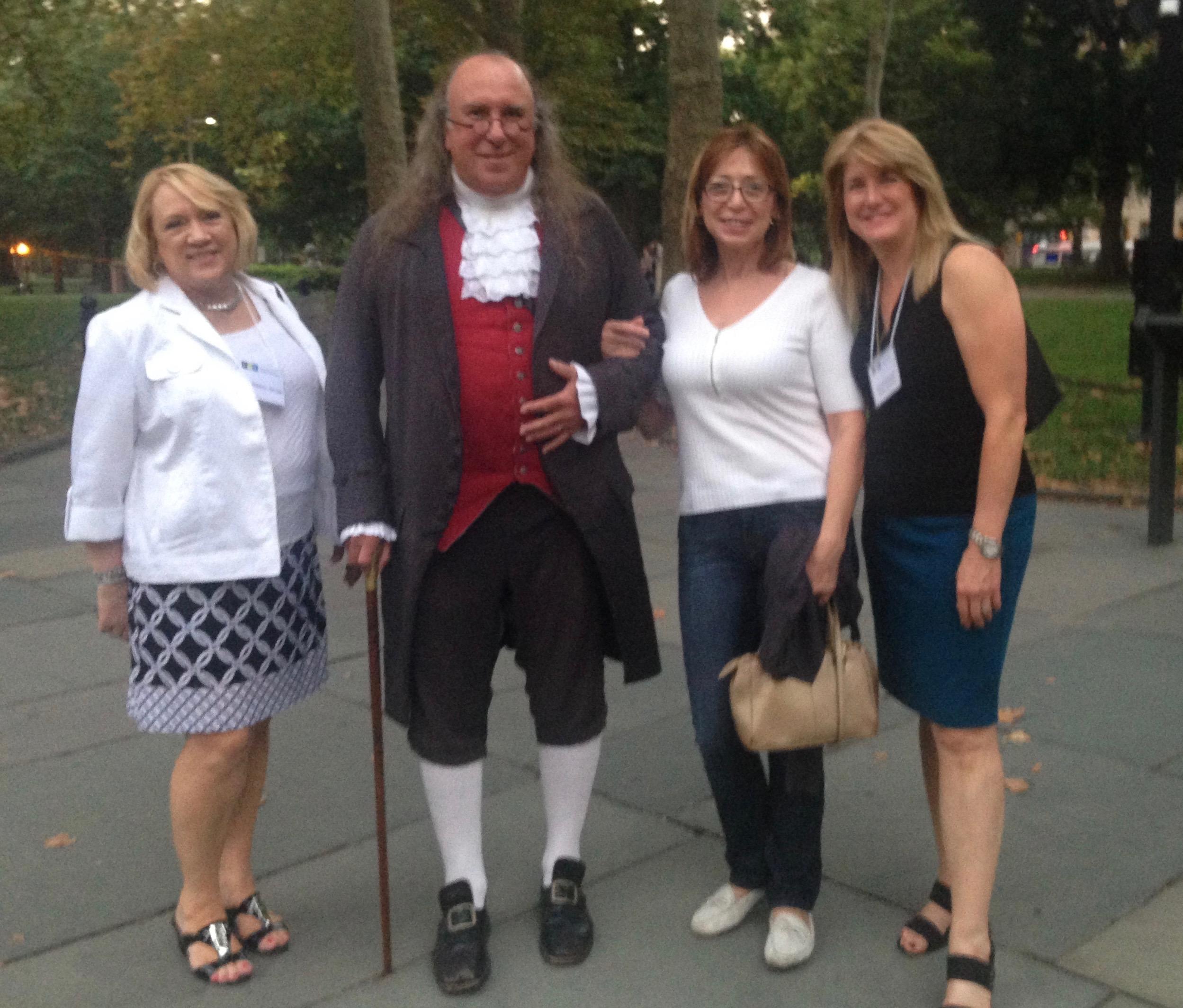 When in Philadelphia, you have to meet Ben Franklin