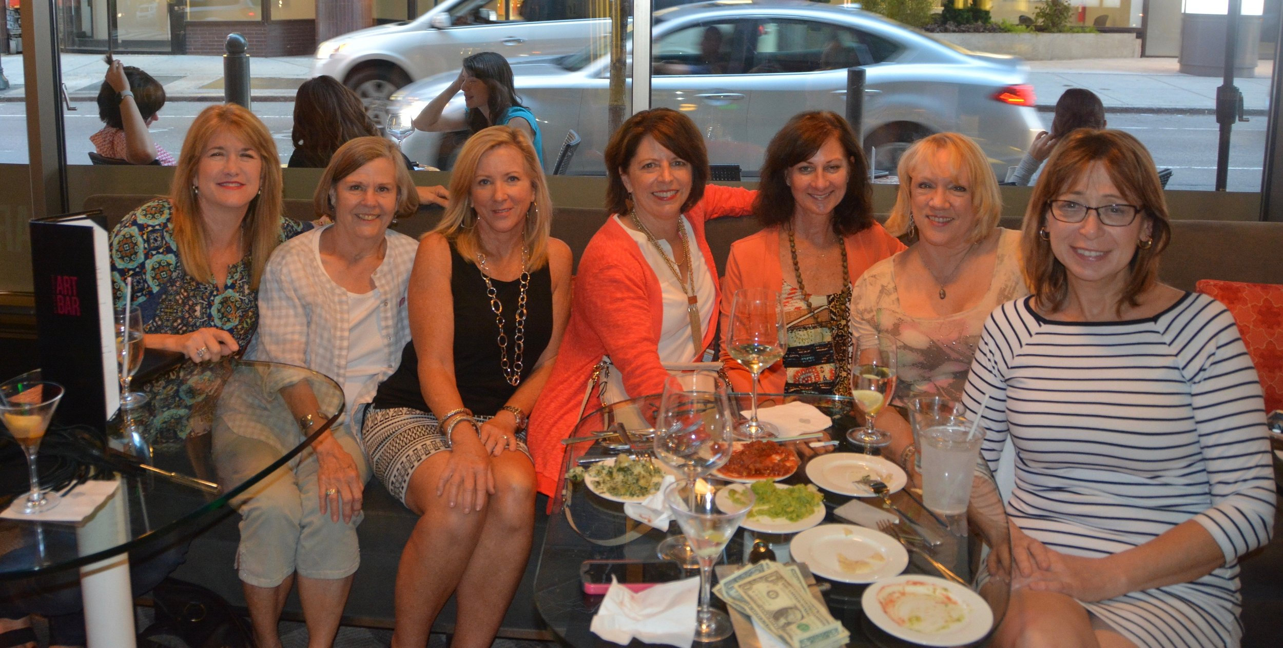 Appraisers out on the town