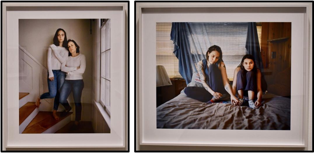 """Anna and Lucia, Newton, Massachusetts"" 2016 | ""Kate and Cora, Porter, Maine"" 2014"