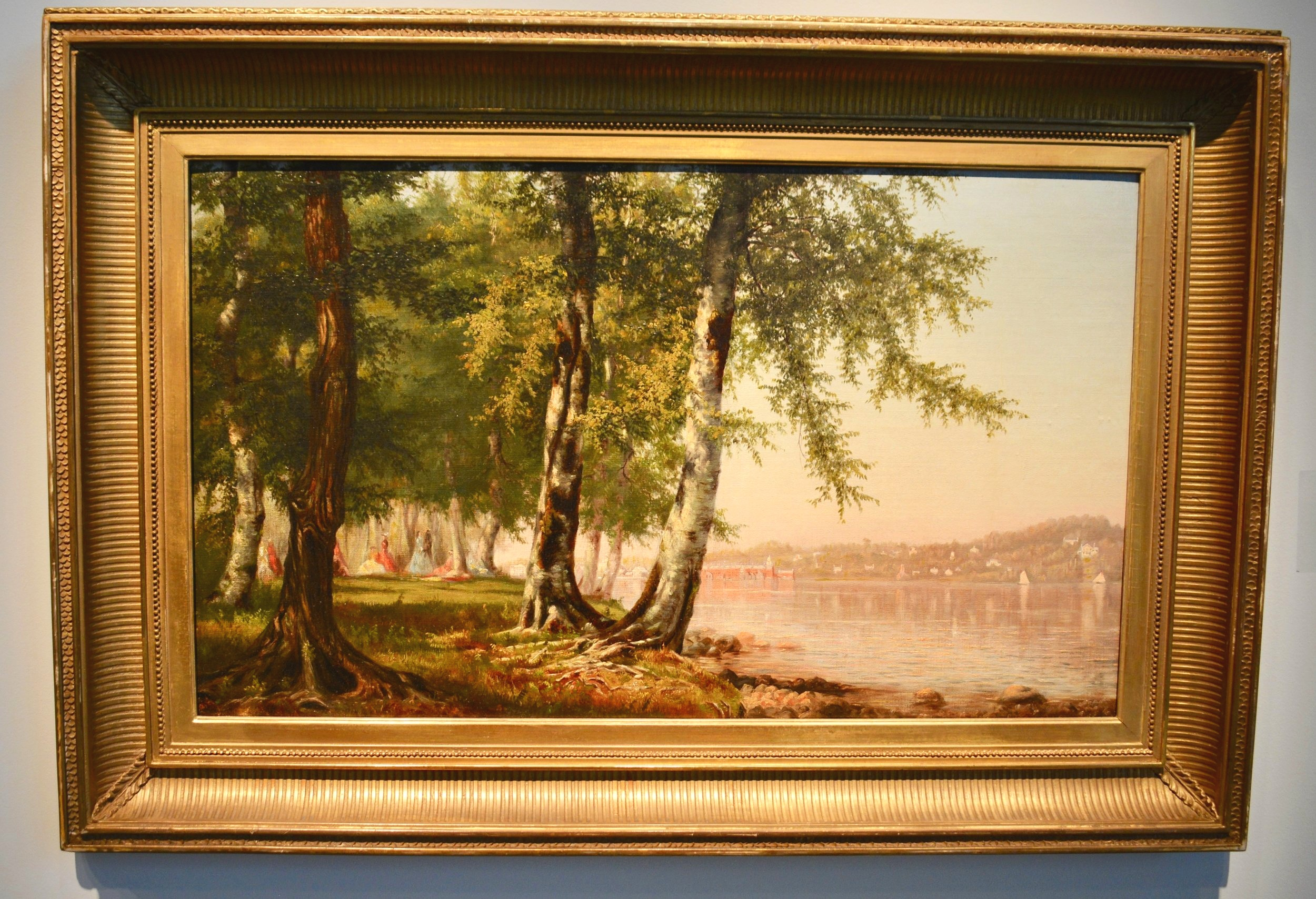 Picnic on the Hudson by Worthington Whittredge