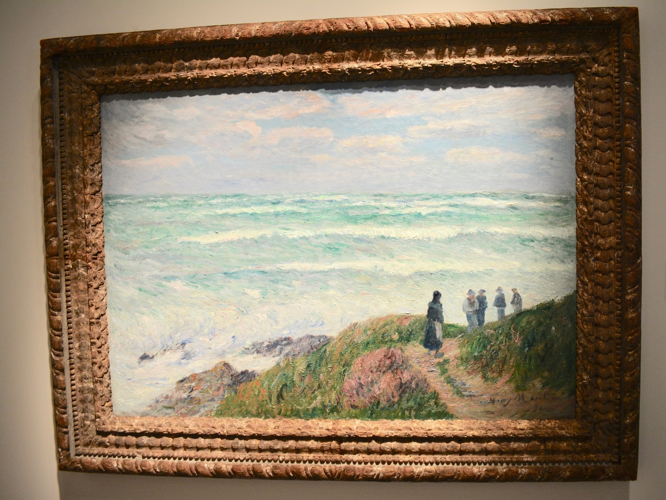 Gros Temps by Henry Moret