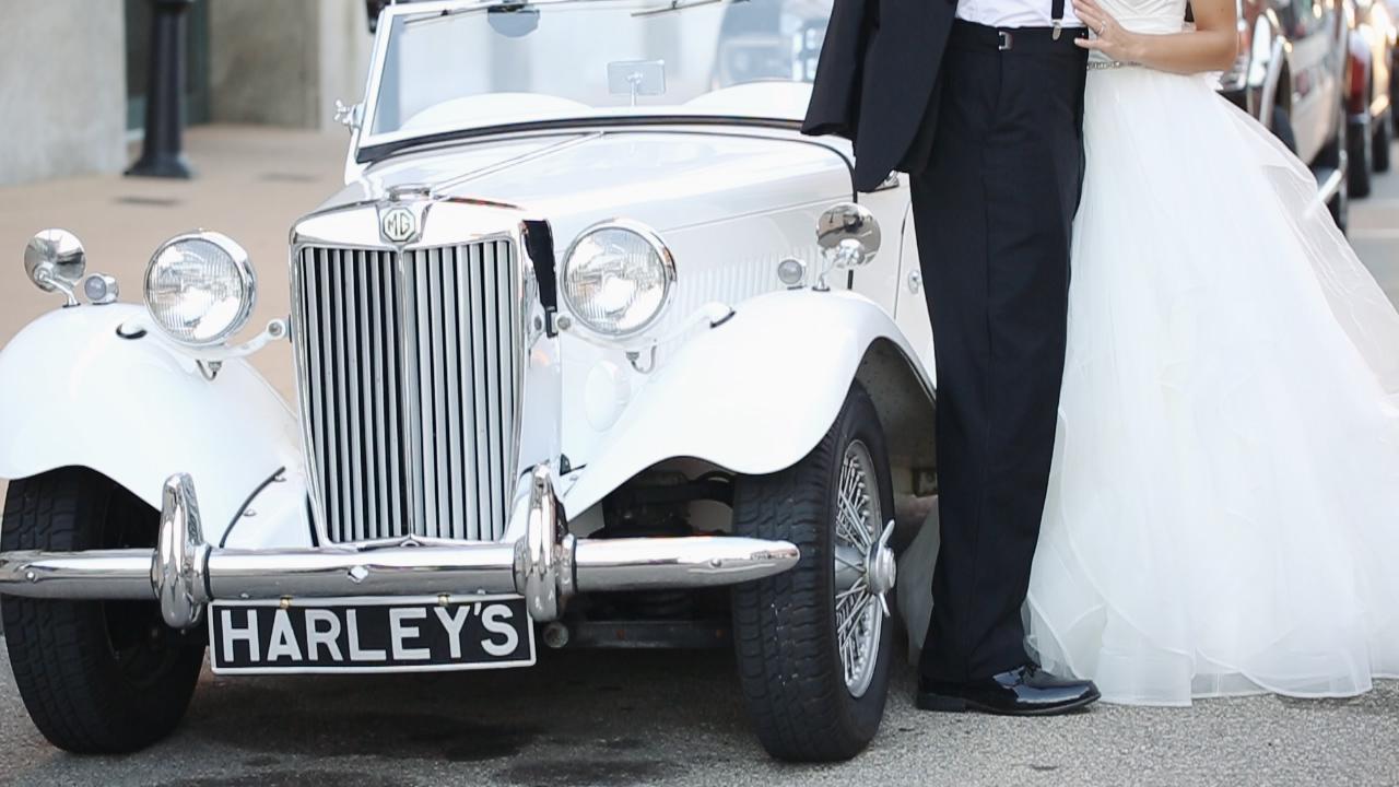 vintage-white-car-harleys-eric-may-emily-burgmeier-wedding-dubuque-iowa-katherine-mendieta-films