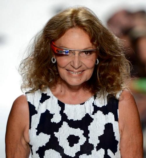 Diane Von Furstenberg for Google Glass.