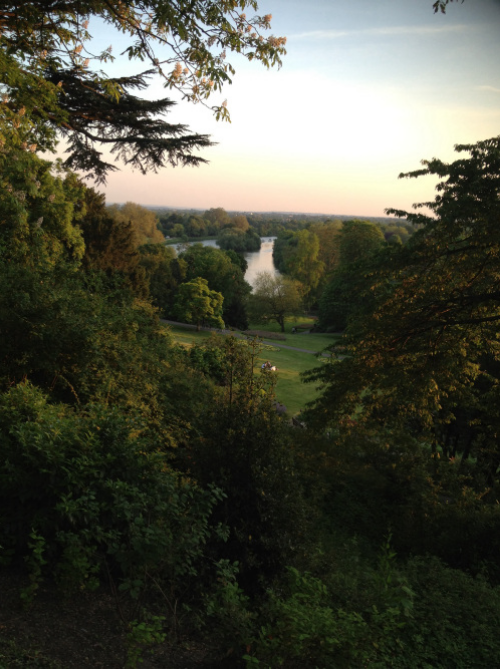 The view from Richmond Hill; the subject of many famous paintings. (photo - worklondonstyle)