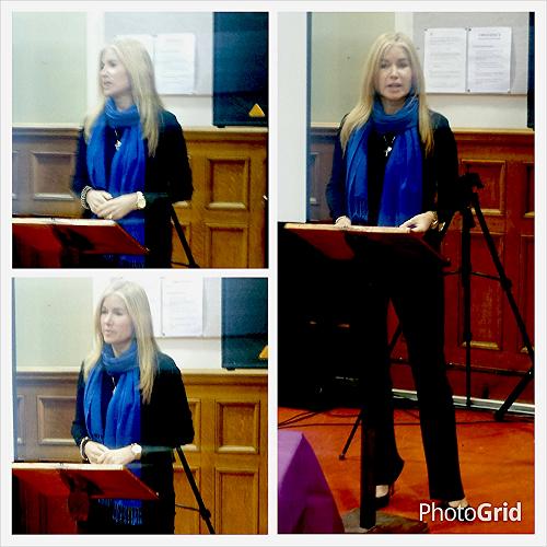 Engela Speaking