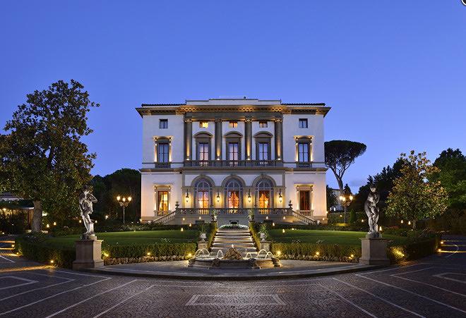 Villa Cora, Florence Italy.