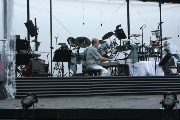 Playing Capeman rehearsal at the Delacorte.jpg