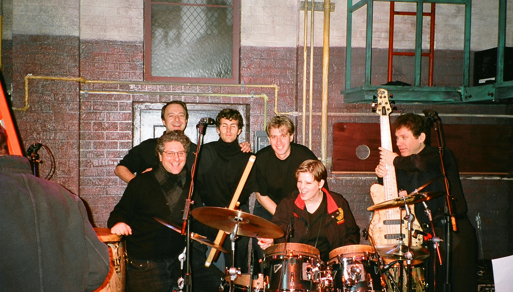 The band at Rosie O'Donnell.jpg