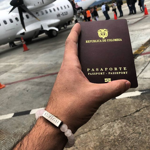 Nothing more exciting than traveling. Our buddy @oh_itsjuan kn the move with the Tetra in Rose 😍. Bon voyage! - Shop NOIRCI.COM and bring that piece on your next journey ✈️🌎