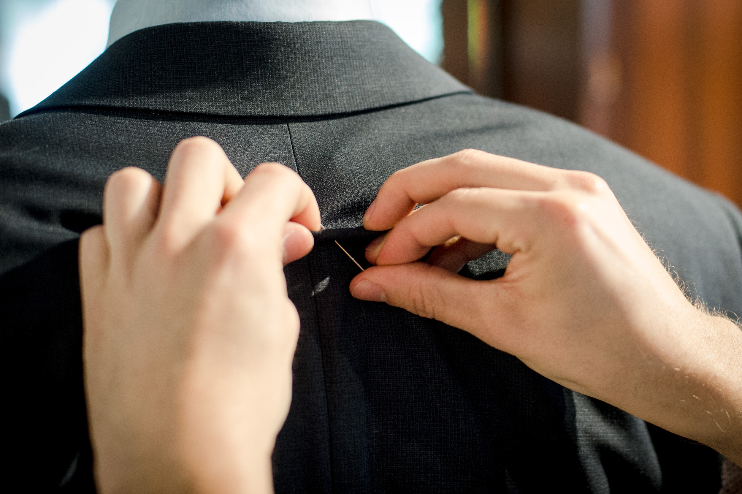 Suit Raise Collar Alterations