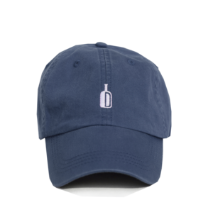 DIXIE RESERVE SOUTHERN BRAND 90 PROOF HAT NAVY