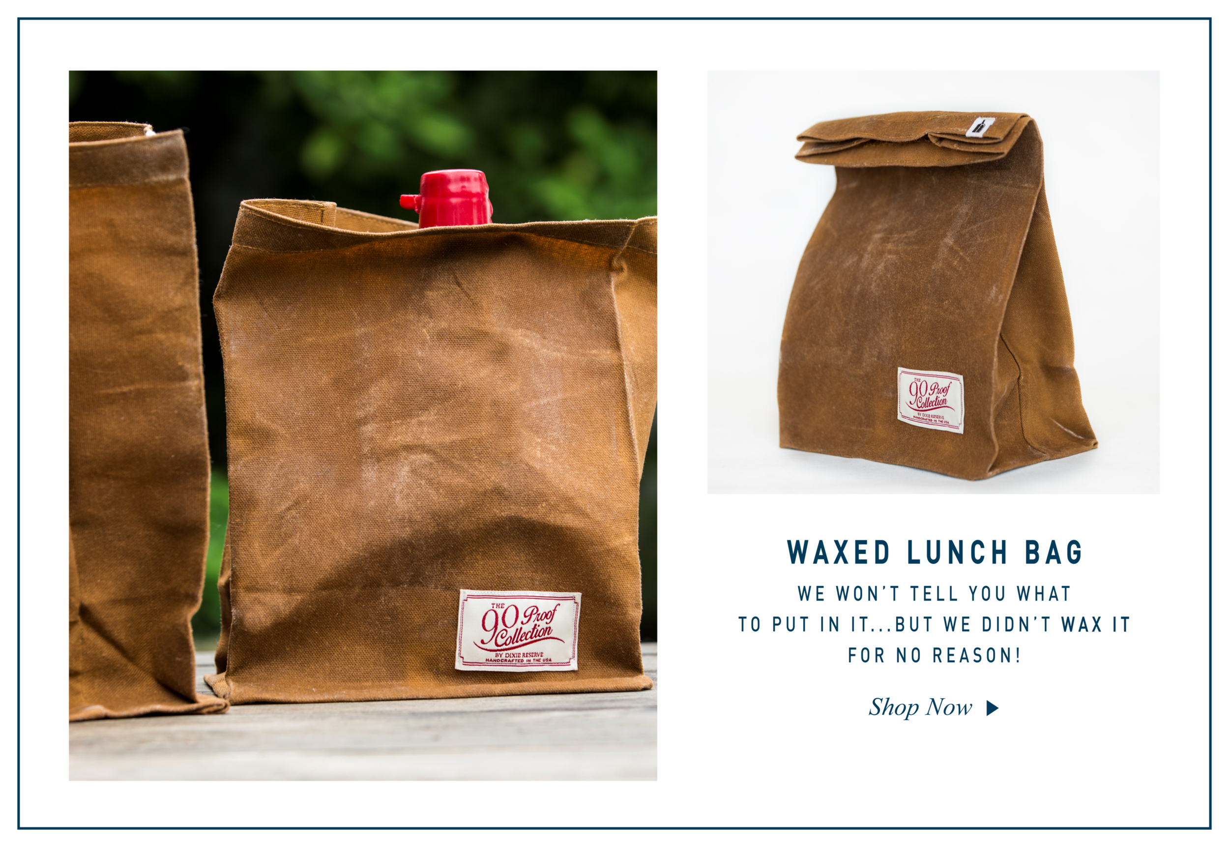 DIXIE RESERVE WAXED LUNCH BAGS