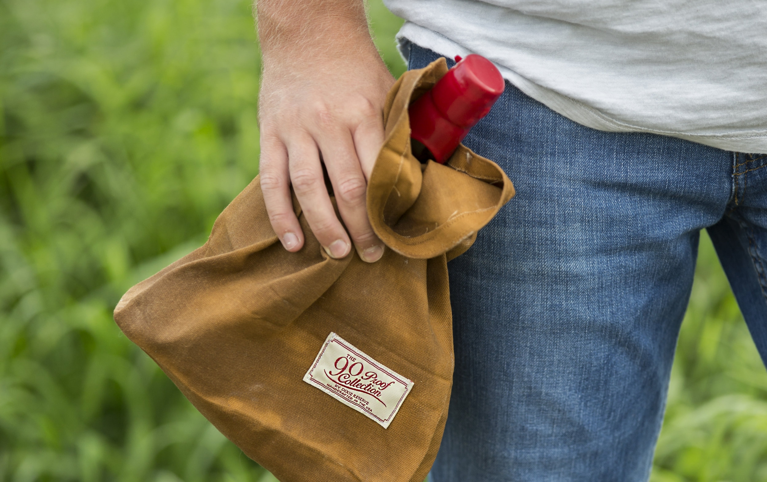 90 Proof Waxed Lunch Bag