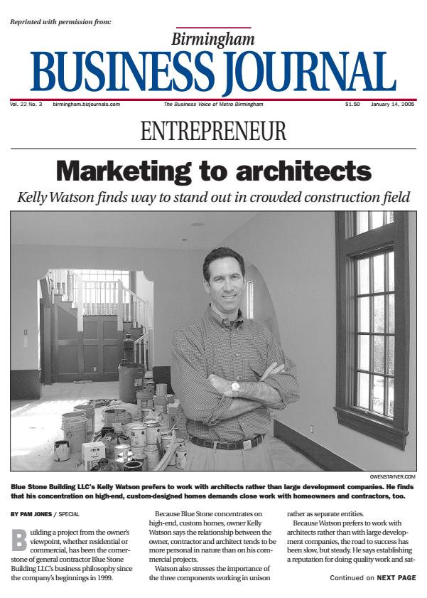 Birmingham Business Journal 2004