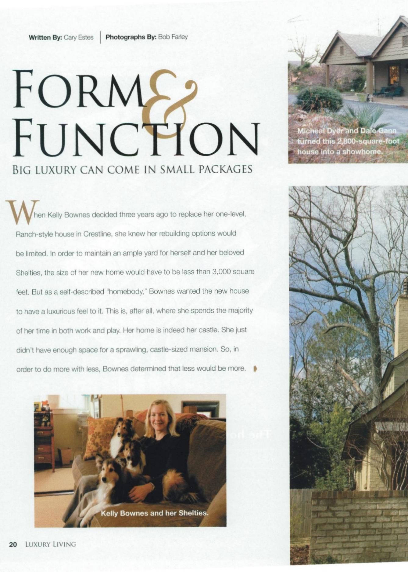 Luxury Living Magazine 2007
