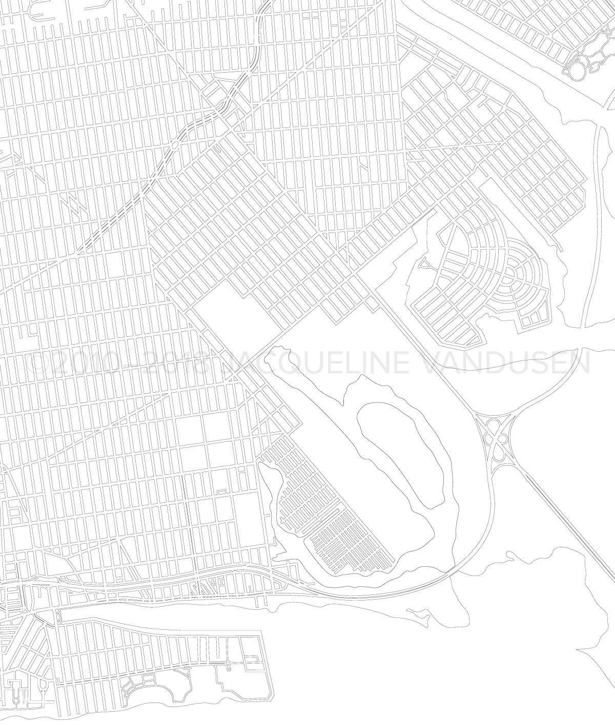 Brooklyn Map (Close-up of southeast)