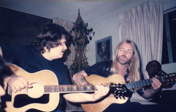 Mike Reilly & Gregg Allman Jam