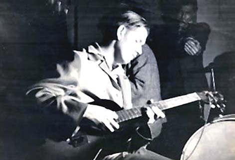 My father was a great guitarist! The picture here is of him playing with  Django Rhinehardt .