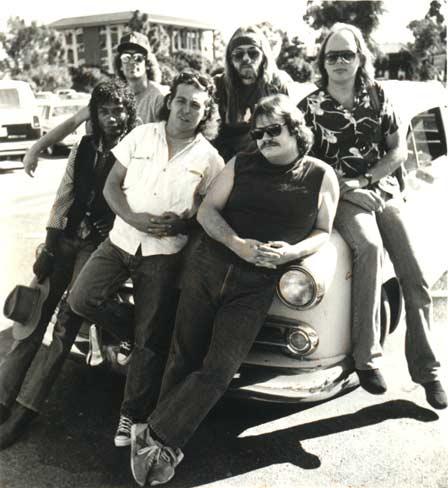 Calvin Hardy, Jan Ashley, Joe Lawing, Wayne Sharp, Mike and JonHurley 1985-86