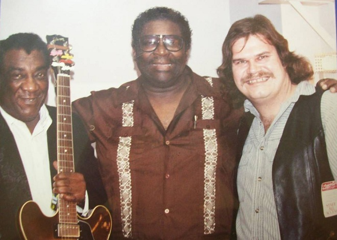 Wayne Bennett, BB King and Mike Reilly 1989