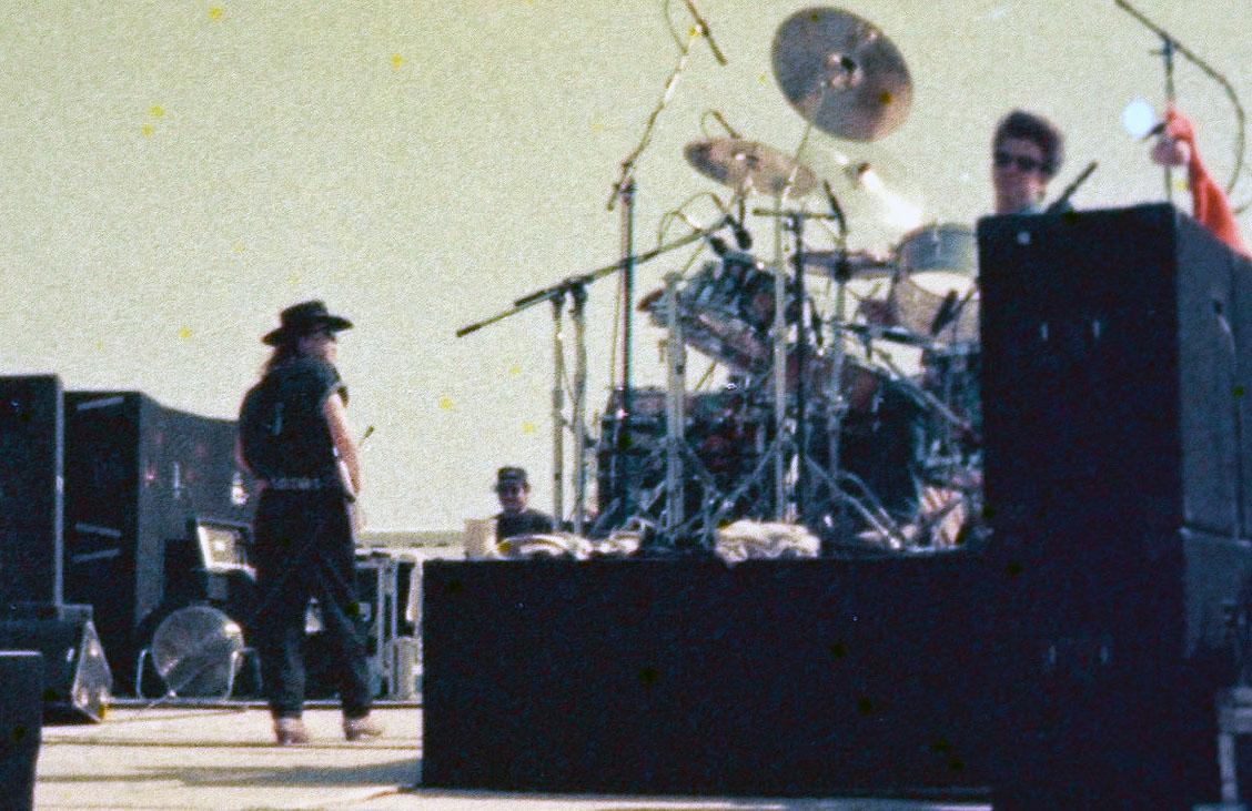 Stevie Ray Vaughan in El Paso