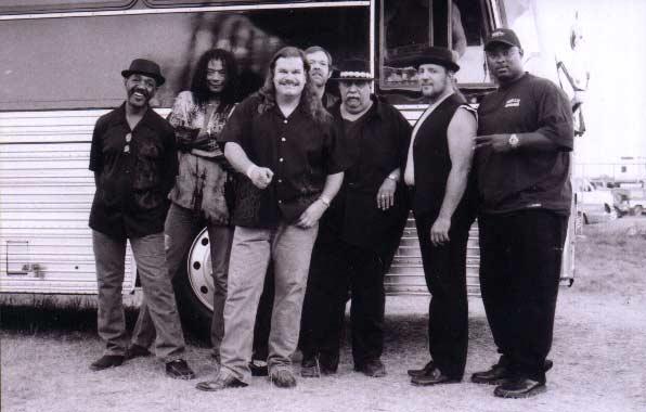 Band #9 – 2001-02-David W. Jones, Calvin Hardy, me, Mike Kahrs, Steve Madaio, Tom Saviano and Cleve Anderson, Jr.