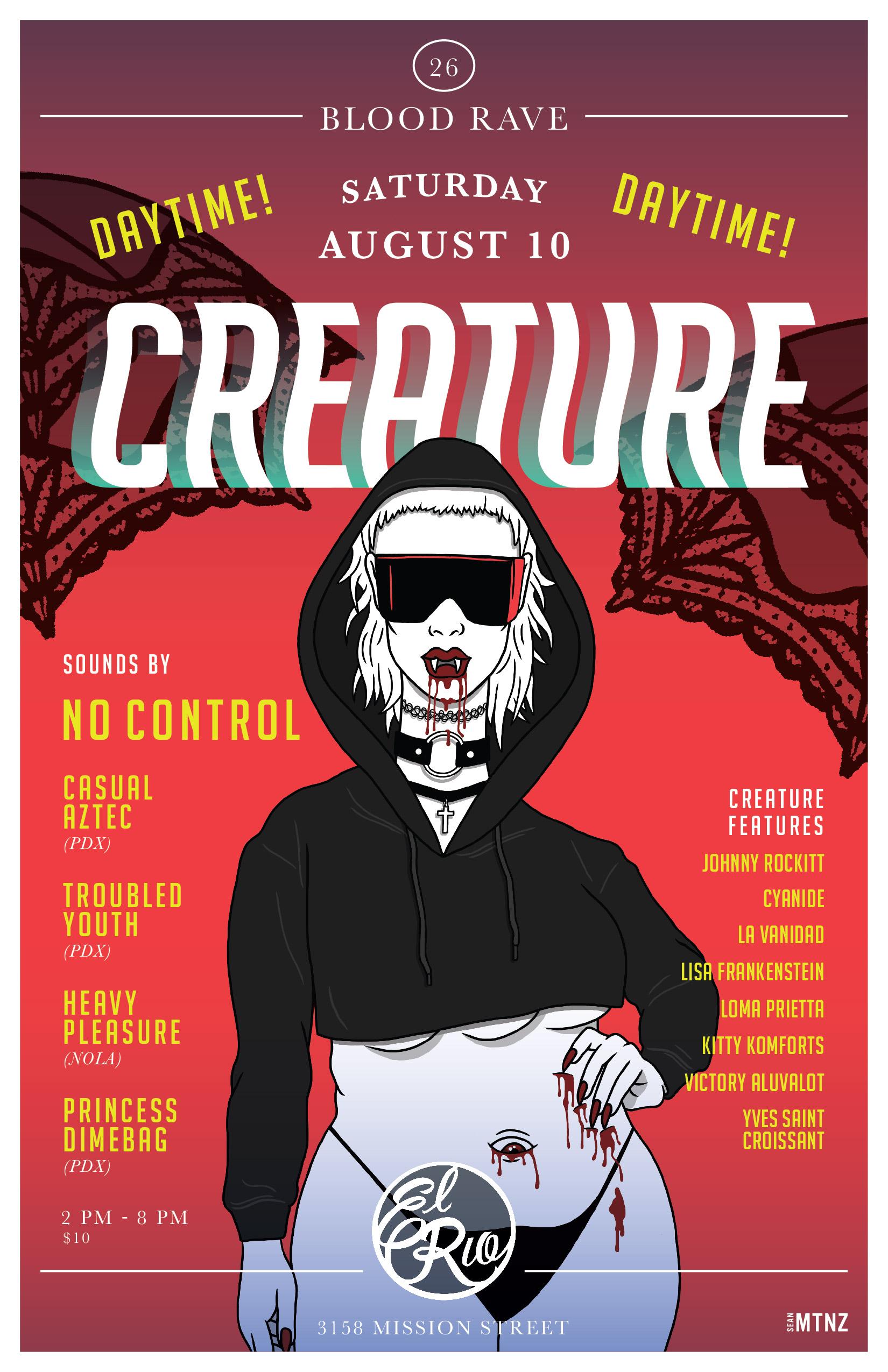 Creature: Blood Rave