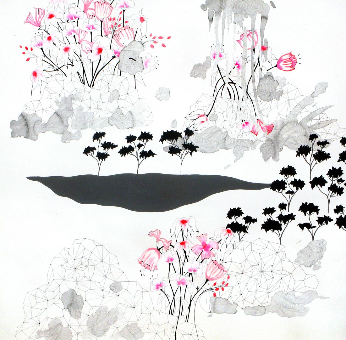 """the rock garden, """"diamond meadows, I"""""""