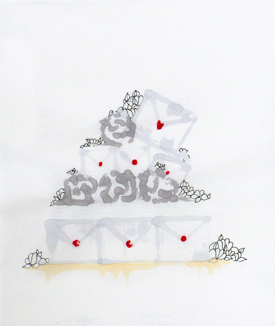 "paper cake, ""but I love you"""