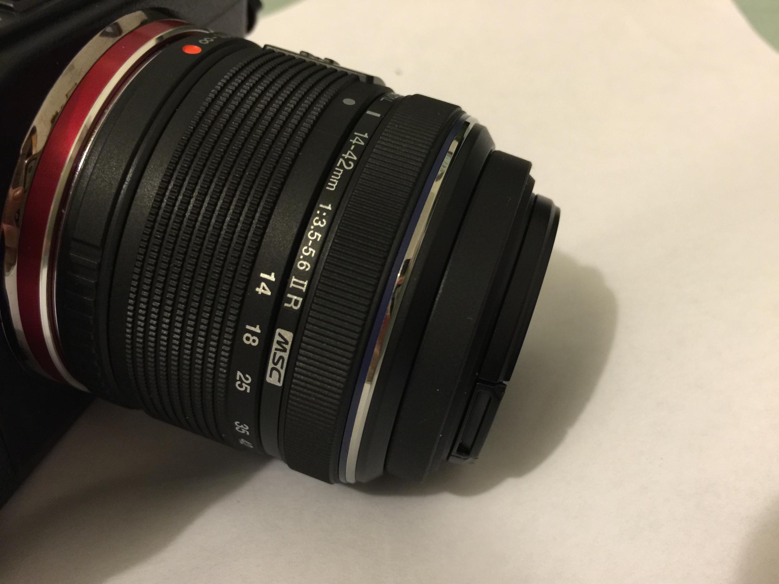 Olympus 14-42mm f/3.5-5.6