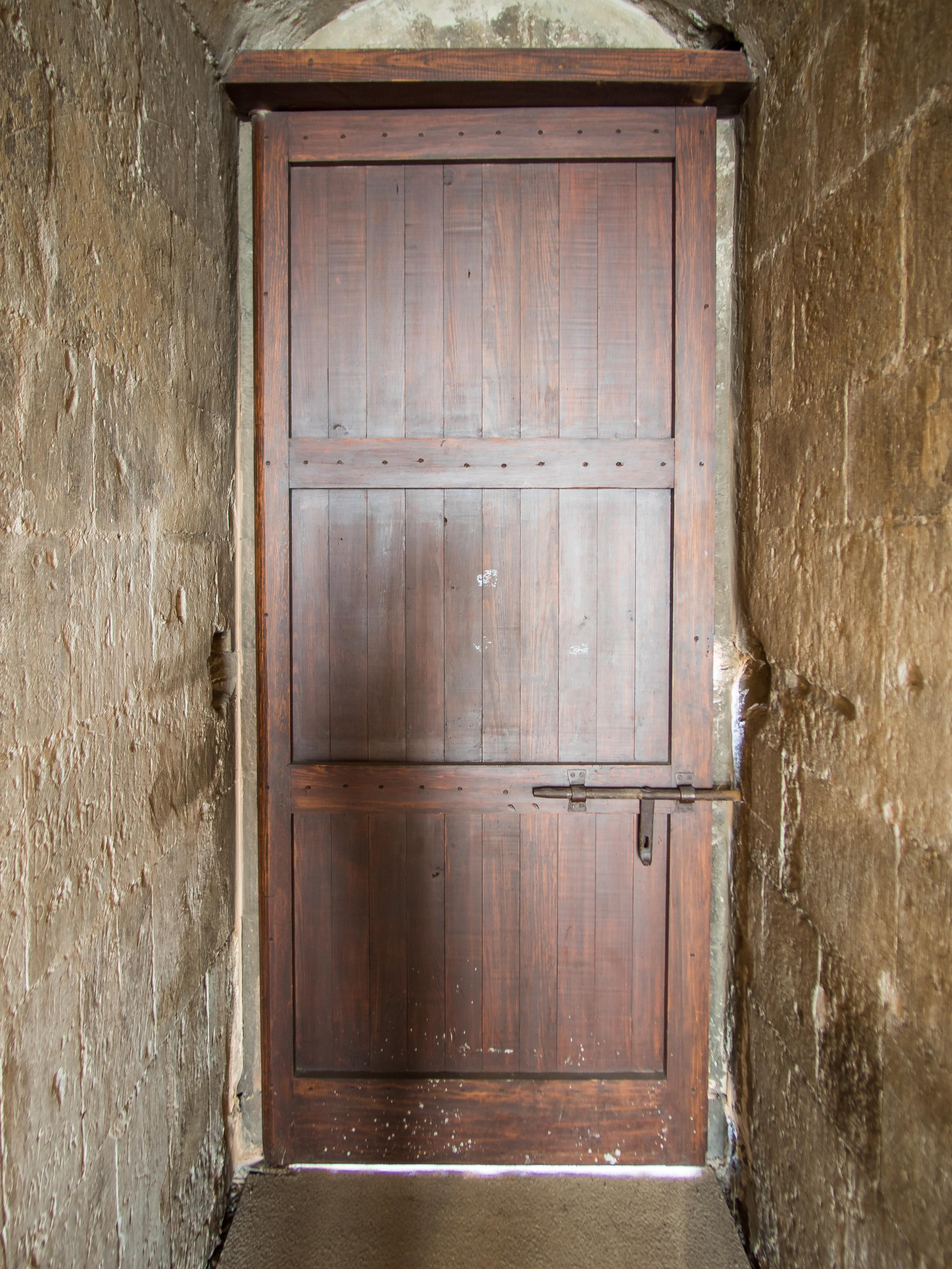 a cool wooden door
