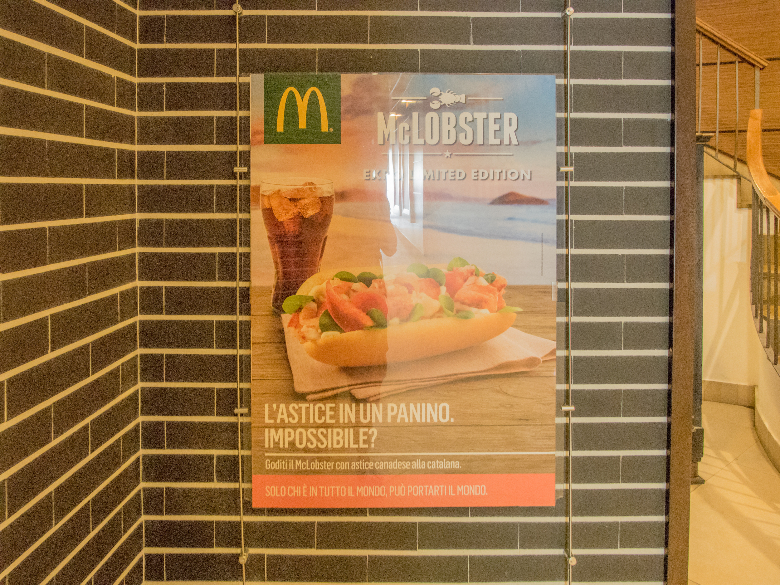 McDonalds Lobster say what?!?!