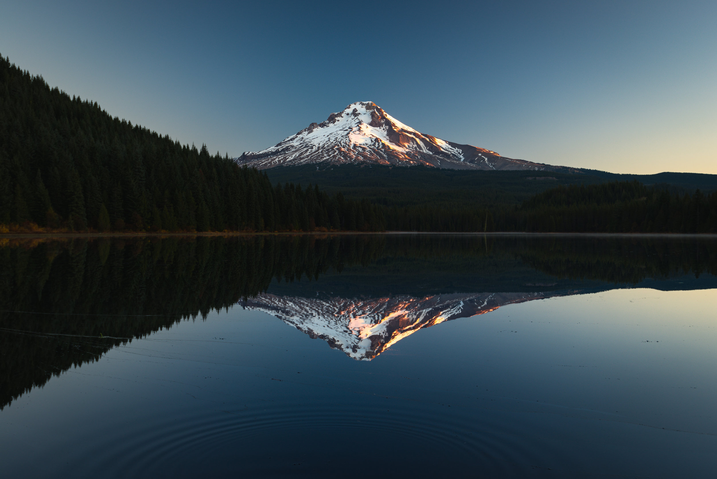 Trillium Lake is an infamous location many photographers have shot while 'Trophy Hunting' including myself.