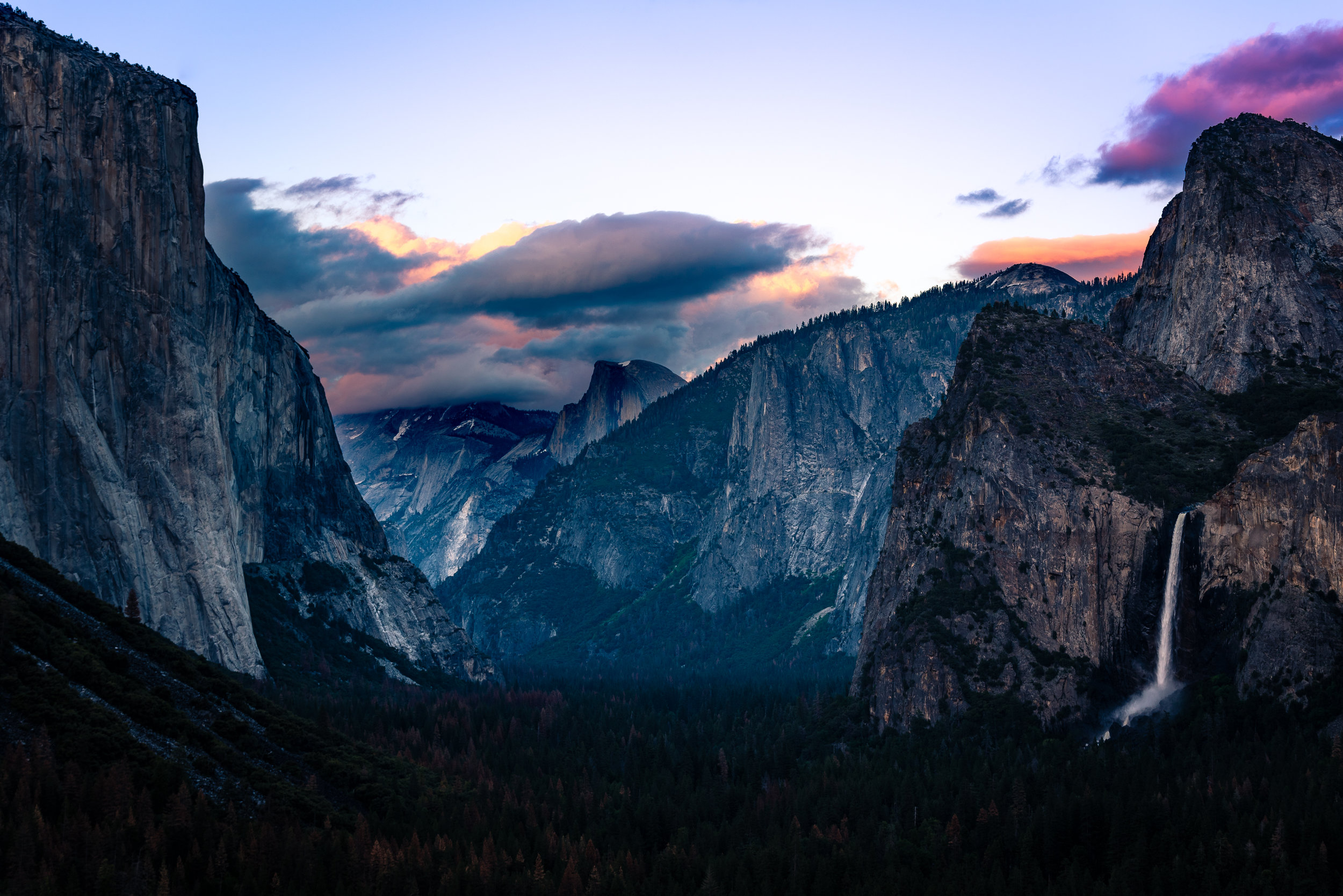 I have a print on Tunnel View in the bathroom as it is the legendary landscape that inspires me to go out and adventure. A good thing to see in the morning!