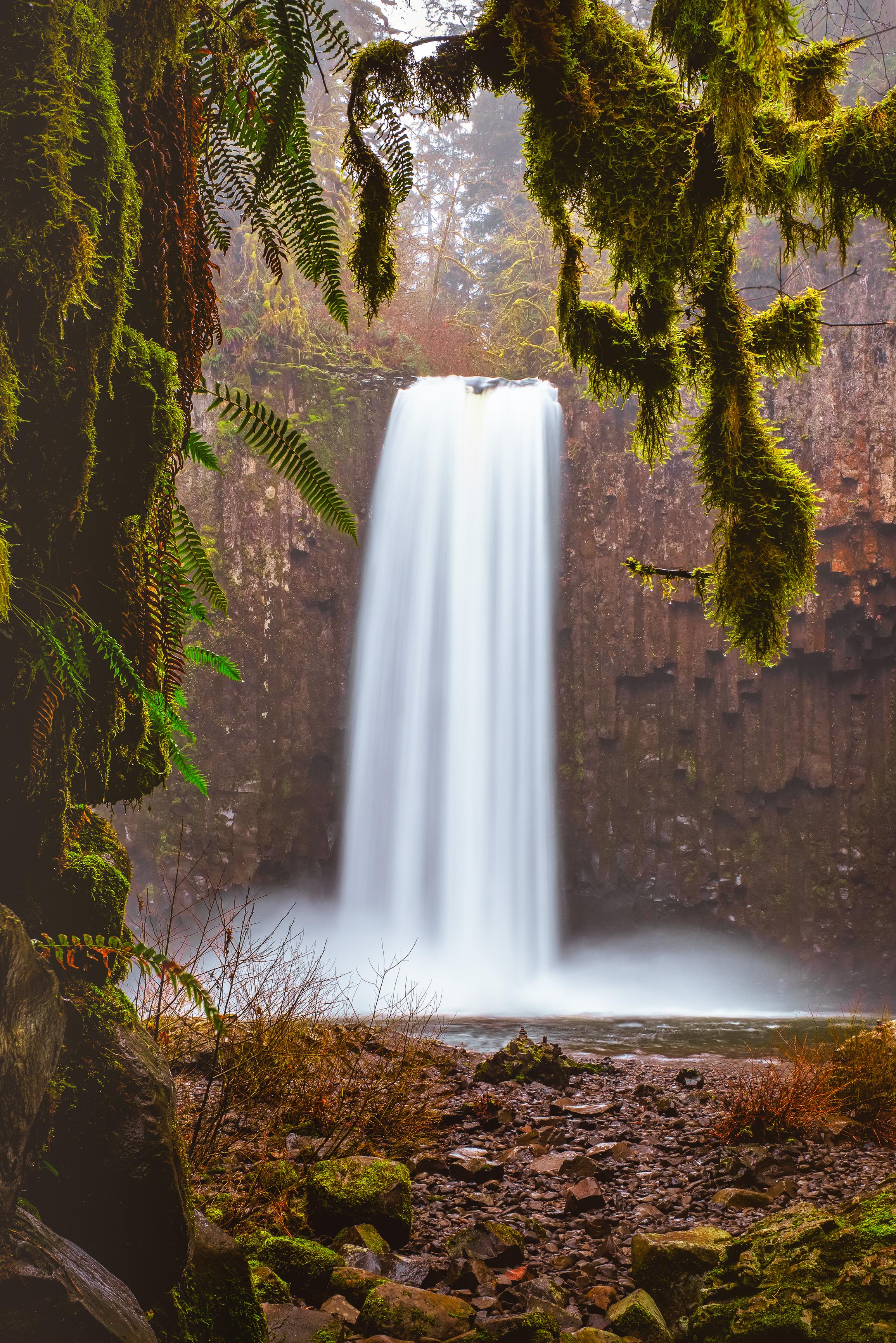 abiqua falls oregon