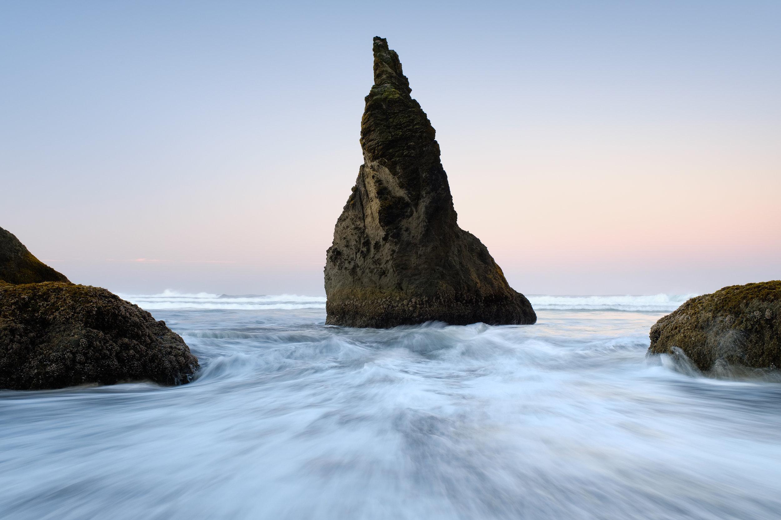 bandon oregon coast seasick sunrise