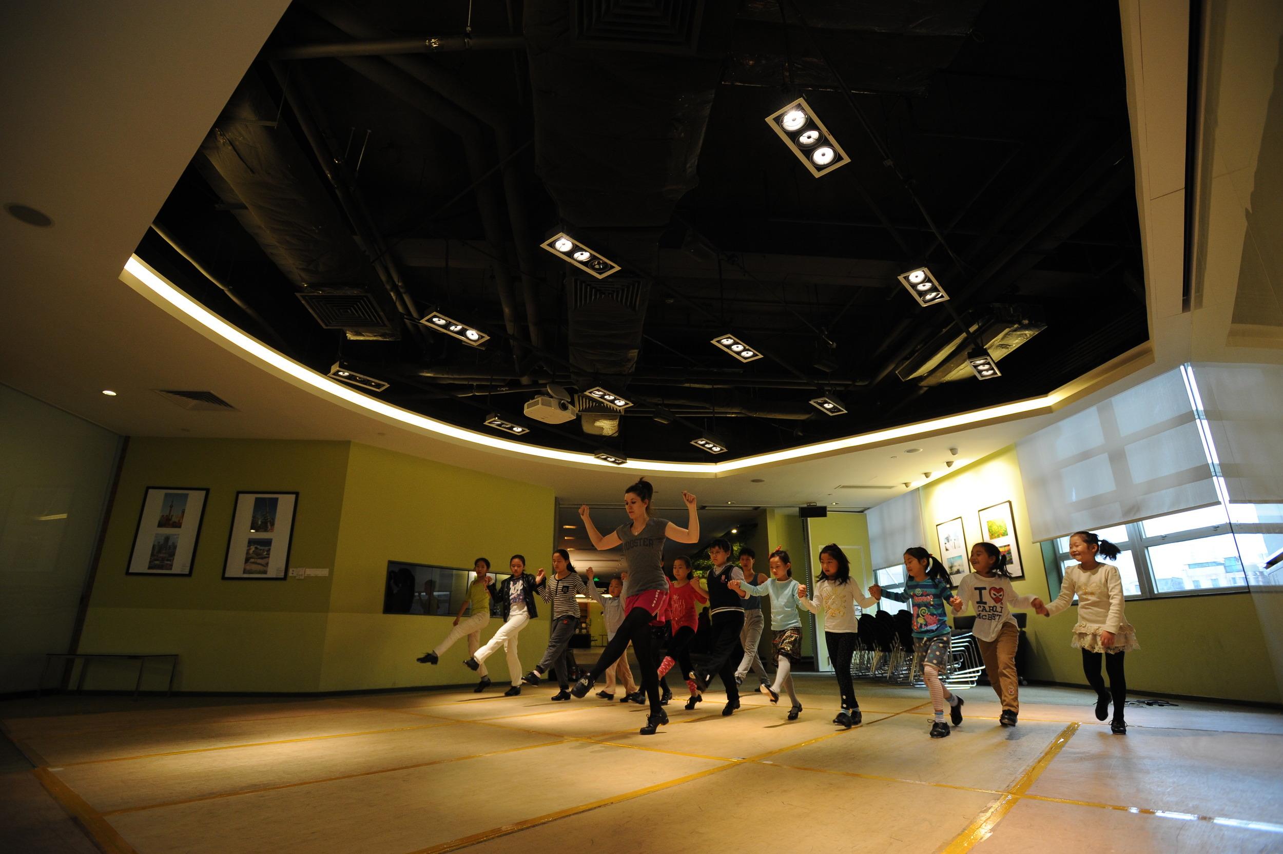 Irish Center Beginner Class, Shanghai