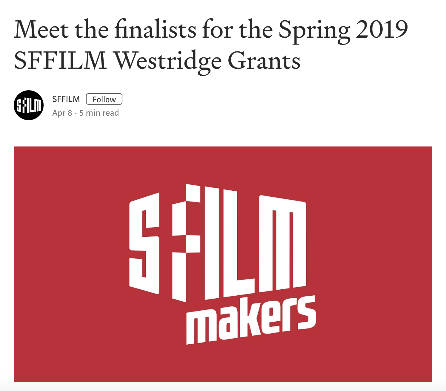 SFFilm Westridge Grant.png