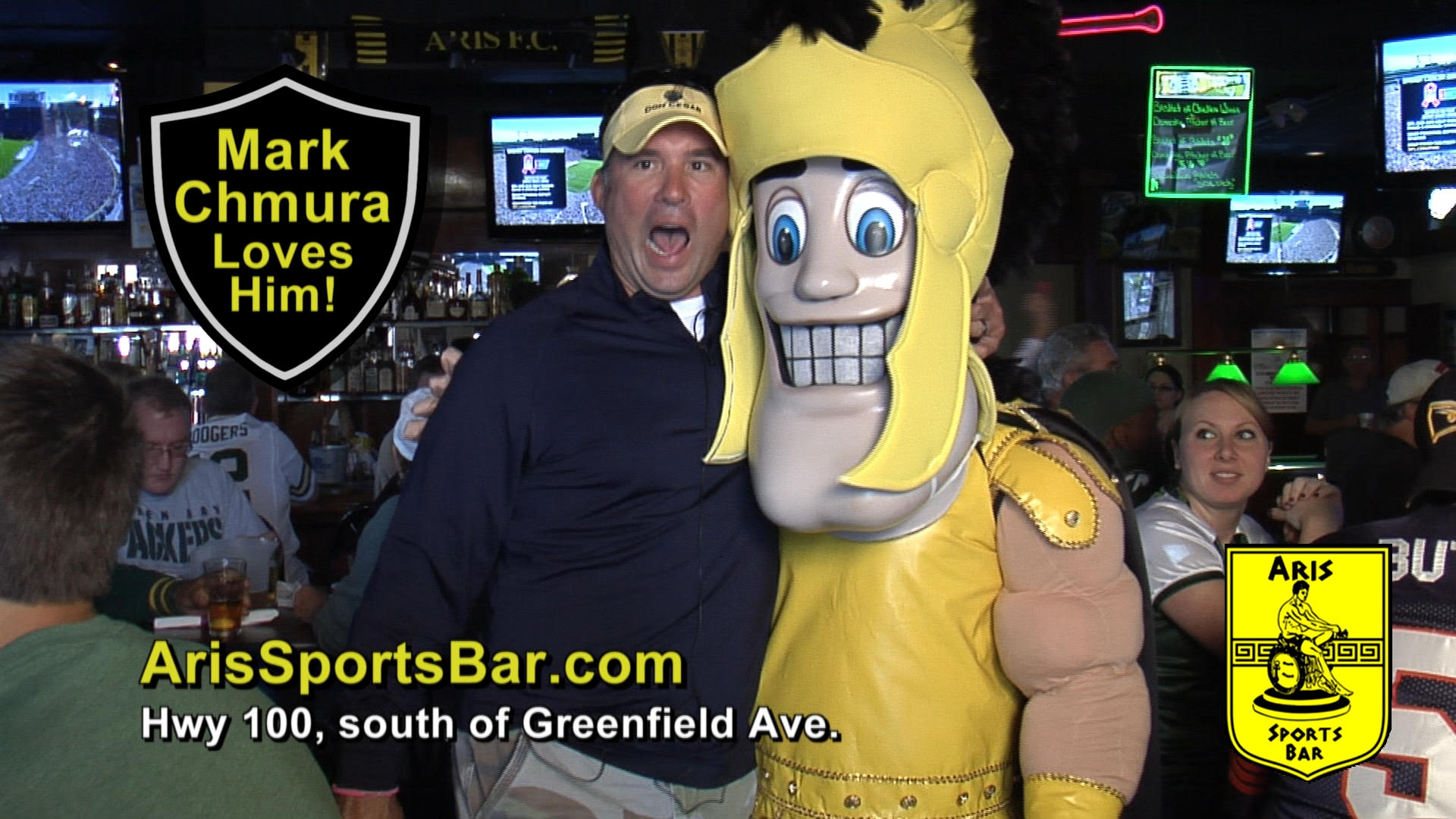 Bolder sports bar commercial