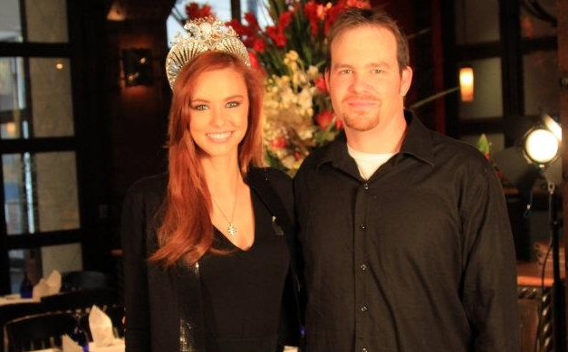 Bolder Pictures' Chris Foley on the set of Miss USA video