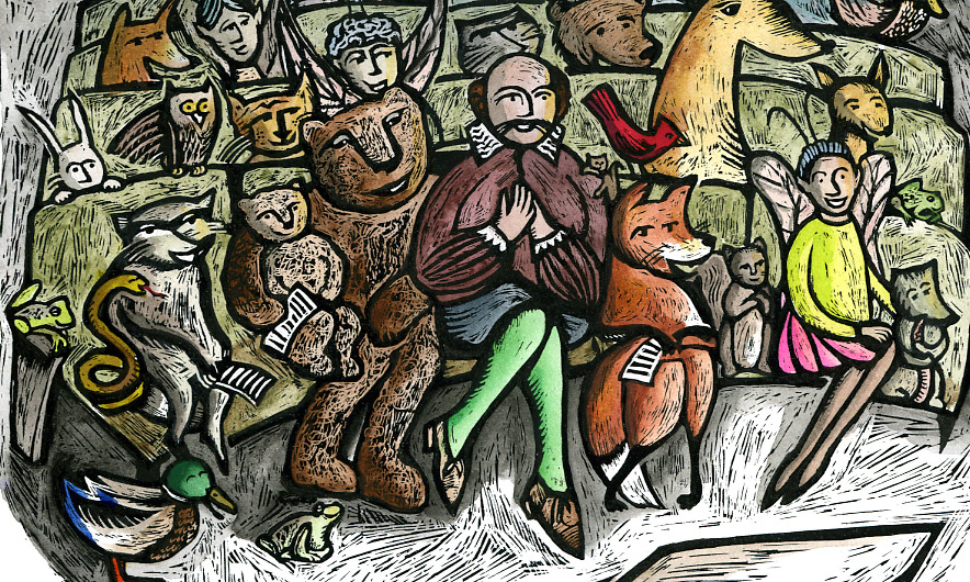 Shakespeare in the Park, poster art