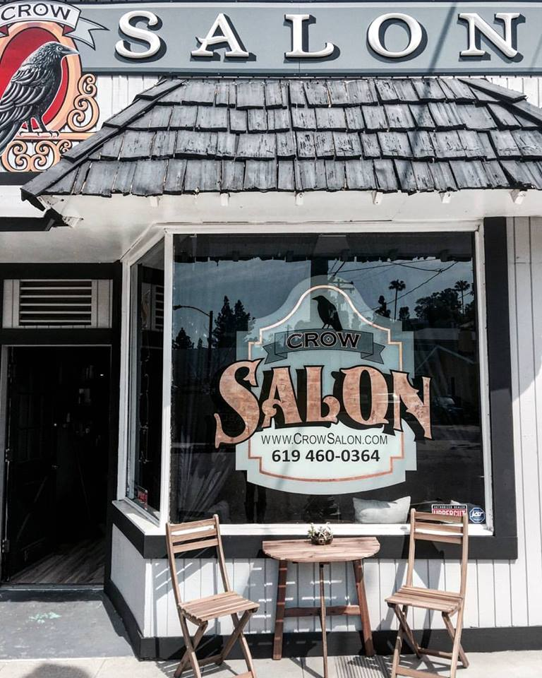 Our cute little salon is tucked away on the corner of Date Ave