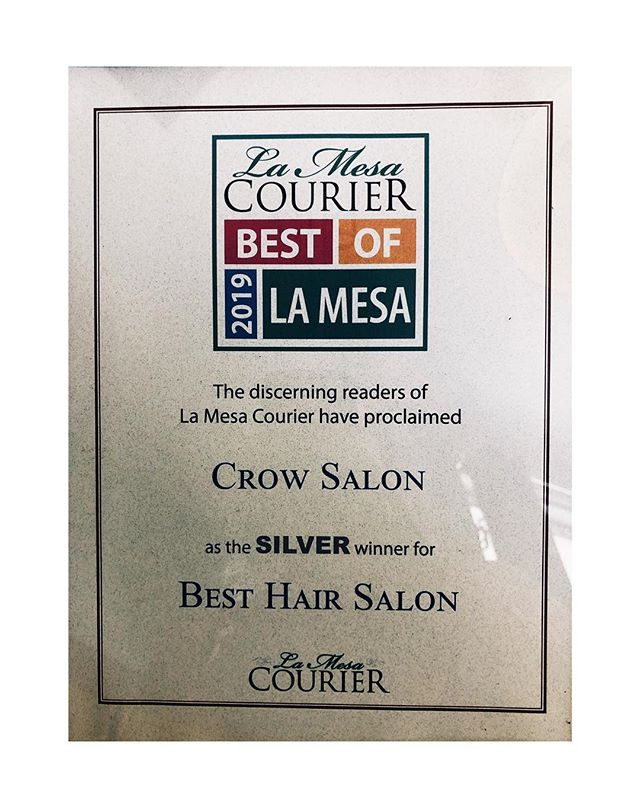 Party on Wayne. 🍻 Thank you to All and to all 🙏🏻 Thank you. #crowsalon #crowsalonlamesa #lamesasalon #swaaeeet #partytime #4yearsinarow