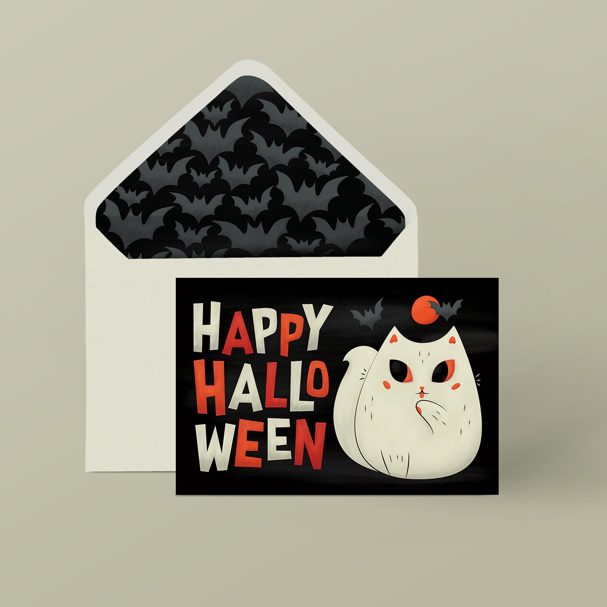Halloween Card by Lindsay Santiago