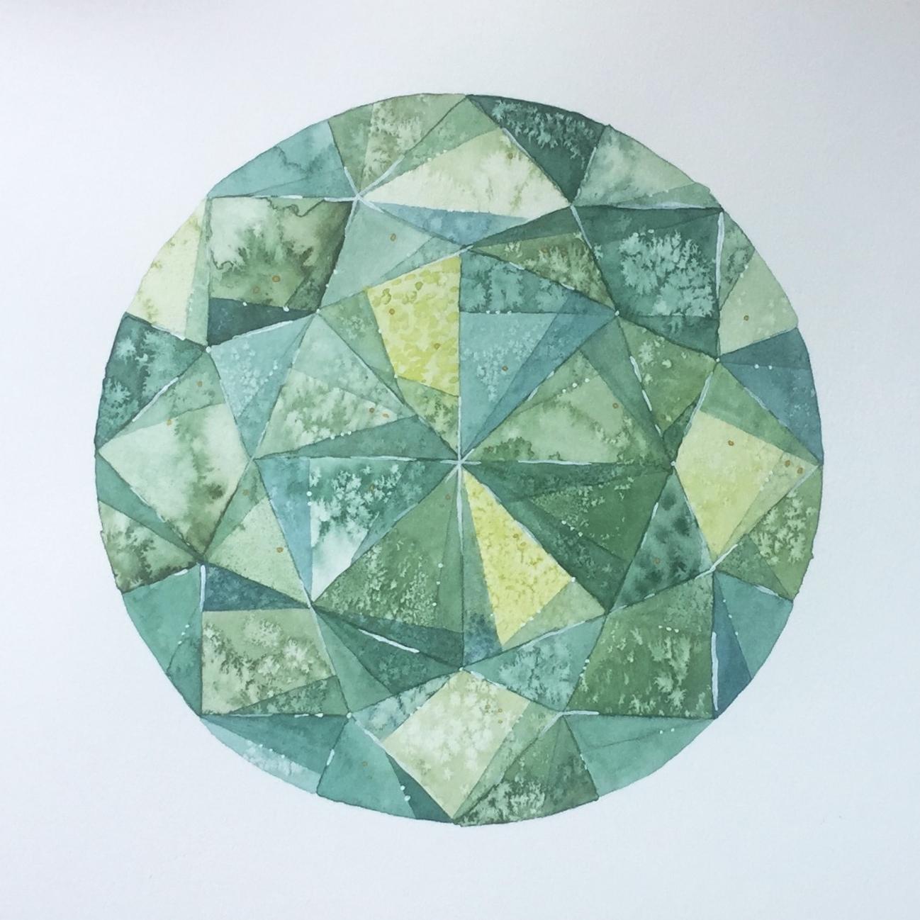 """Jade  15 x 11""""   Sold"""