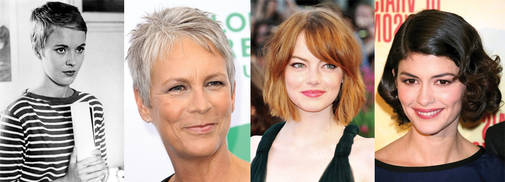 Short hair ideas - short hair inspiration - celebrities with short hair